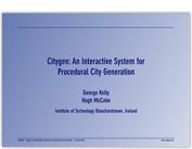 citygen